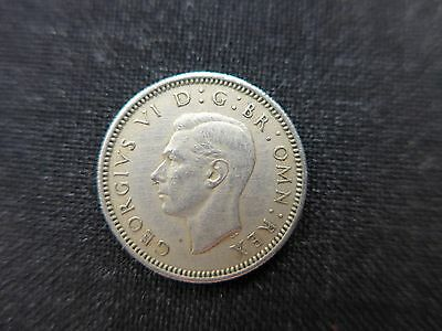 1952  King George V1  Sixpence,  a rare coin.