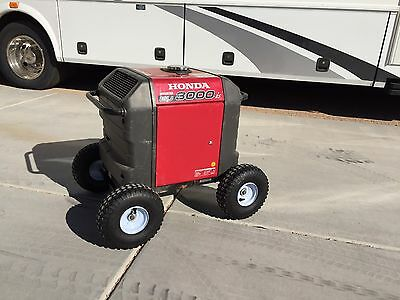 Honda Generator Air TIRES -ALL TERRAIN Wheel Kit For EU3000IS- BIG 10 IN TIRES