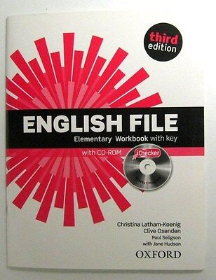 English File Elementray Third Edition Workbook Christina With Oxford Cd- And Key
