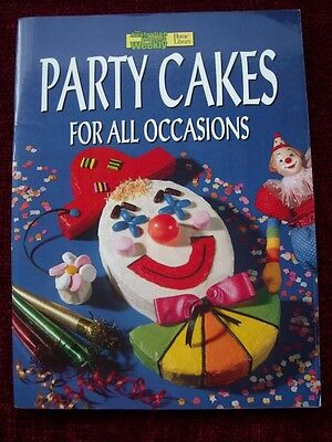 Womens Weekly Childrens  Kids Party Cake All Occasions Book Cookbook Recipes