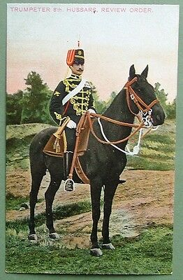 Miltary Art Postcard - Trumpeter 8Th Hussars, Review Order