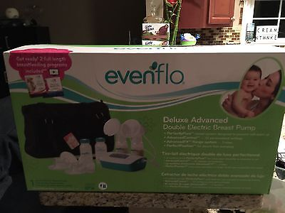 Evenflo Feeding Deluxe Advanced Double Electric Breast Pump  - NIB