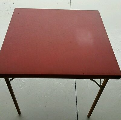 Vintage 1950's card table