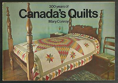 300 Year History of QUILTS in CANADA. Historical Book with Photos! Colour!