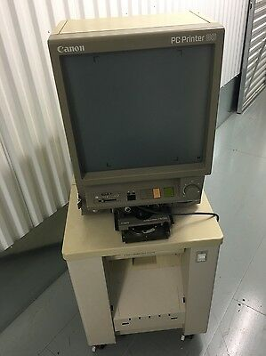 CANON PC PC80 PC MICROFICHE MICROFILM READER PRINTER Collection Guildford A3 UK