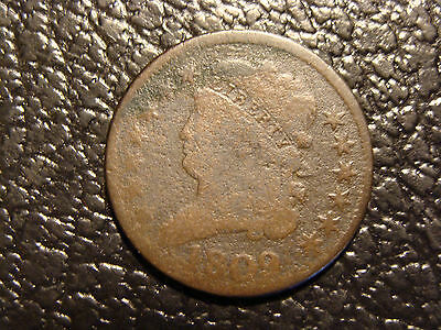 1809 Classic Head Half Cent VG WE COMBINE ON SHIPPING
