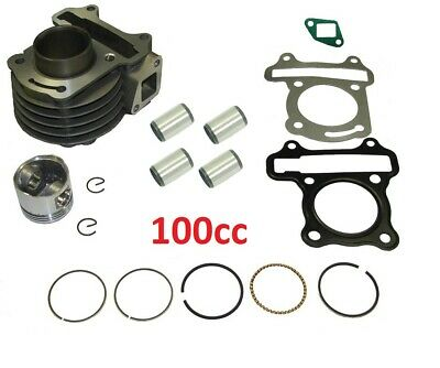 Big Boke Kit 100cc GY6 Cylinder Piston & Rings Wrist pin and Cirq Clips