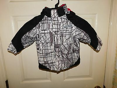 ZeroXposur Boys Lined Hooded Winter Coat Size 24 Months *NICE
