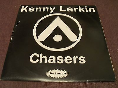 """Kenny LArkin/ Sean Deason - Chasers/ The Shit - 12"""" EP 1995 Distance Records"""