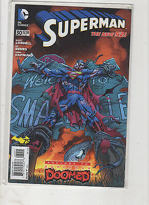 LOT # 3 is 8 different DC NEW 52 .. SUPERMAN COMICS VF/NM