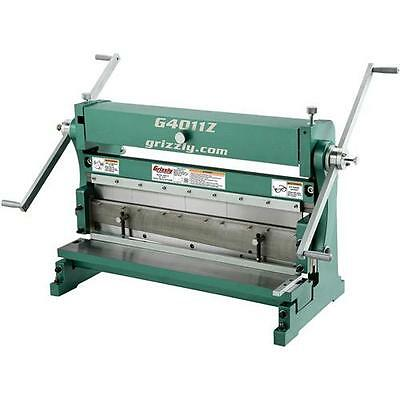 """G4011Z Grizzly 30"""" 3-in-1 Sheet Metal Machine"""