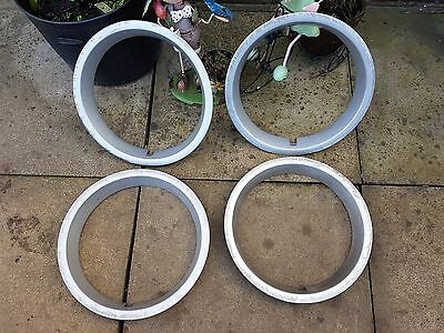 "Set of Volkswagen 13"" Wheel Trims Hub Caps x4 Golf Polo Lupo"