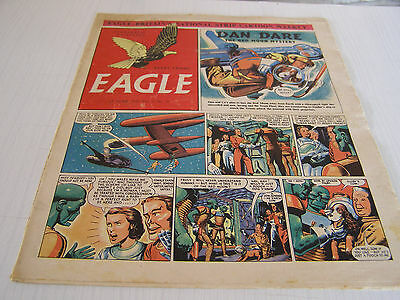 Dan Dare Eagle Comic June 1952 Vol 3 No 10