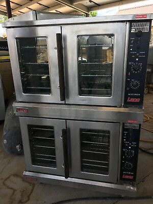 Used Lang Accu Plus Double Stack Electric Convection Oven ECOF-AP480V 3 Phase