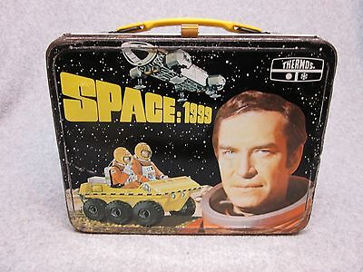 1976 SPACE 1999 Tv LUNCHBOX Science Fiction,Alien,Moon,Octopus,Buggy,Space C#7.5