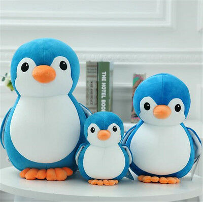 New Cute Penguin Kids Plush Soft Toys Stuffed Animal Doll Pillow Cushion Gifts