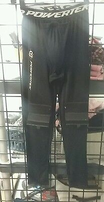 Hockey Jock Compression Fit Long Hockey Pants with Cup & Sock Tabs
