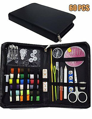 Sewing Kit Bundle Portable Mini Household Sewing Accessories Emergency Sewing...
