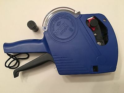 Genuine Motex MX5500 1 Line Price  Labeling Gun - Blue, New with 1 Label roll