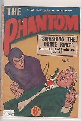Phantom  Frew # 3 Original VG and #3 Replica VF