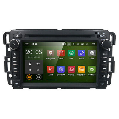 Android 7.1 Auto DVD GPS Navigation Radio for GMC Sierra Chevrolet Buick Saturn