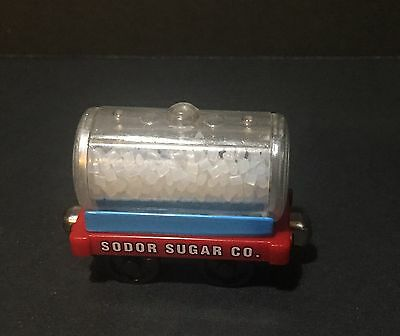 RARE Sodor Sugar Co. Cargo Car Tanker 2004 Thomas The Train Take N Play Metal