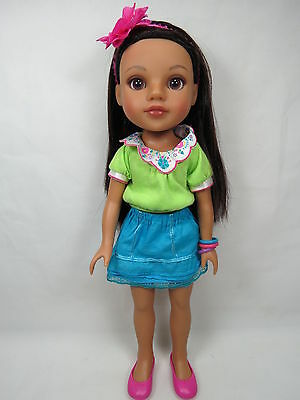 Playmates Hearts for Hearts Doll Consuelo from Mexico HTF Great Gift B50 2.38