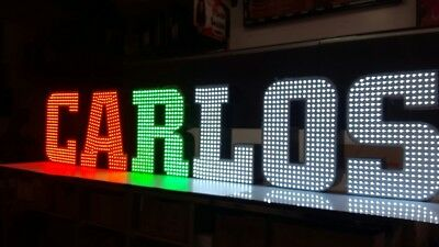 """New Led Channel Letters 24"""" -  Bright Colorful - Custom Made - Any size"""