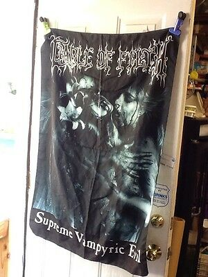 Cradle Of Filth - Tapestry Supreme Vampiric Evil 100% Polyester 3.6 Ft By 2.6 Ft