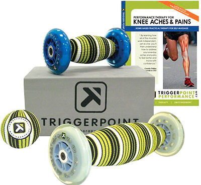 TRIGGER POINT PERFORMANCE KNEE KIT Tissue Massage Ache Pain Therapy FREE SHIP