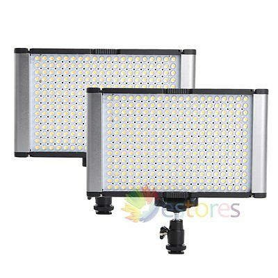 2Pcs VILTROX JYLED-300 Photography Video Studio LED Fill Light Panel【UK】