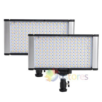 2Pcs VILTROX JYLED-160S Bi-Color Dimmable Photography Studio LED Fill Light【UK】
