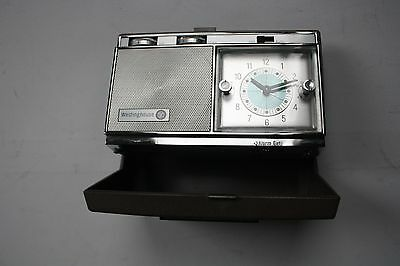 Vintage Westinghouse Travel Alarm Clock Radio Made in Japan for repair