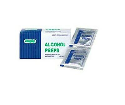Alcohol Prep Pads Pads by Rugby - 100 ea