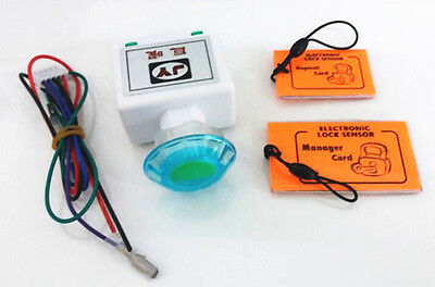 key card operated system electronic lock sensor with manager card and key card
