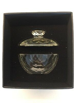 Royal Doulton Crystal Trinket Box