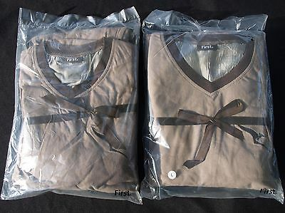 QANTAS 'his and hers' First Class pyjama sets unused in original packing