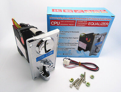 KAI-638 Plastic front plate Advanced CPU comparable Coin Selector Acceptor