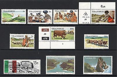 Transkei small group of stamps see scans x2