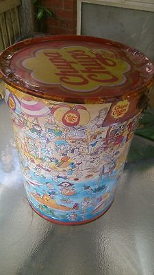 Empty chupa chup tin  ( Collecters item)