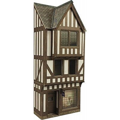 Low Relief Timber Frame Shop Front - OO/HO Card kit – Metcalfe PO421 - Free Post