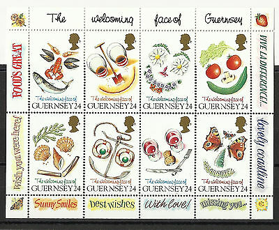 Guernsey - MS - Greetings Stamps - MNH - 1995