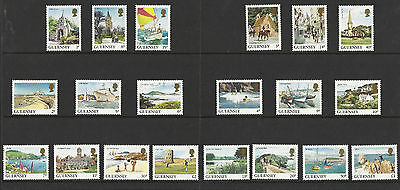 Guernsey - Views - 20 stamps from set - MNH - 1984