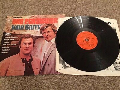 John Barry-Theme from The Persuaders, CBS 64816 Vinyl LP 1971
