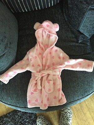 Girls Dressing Gown Age 12-18 Months