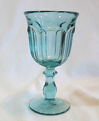 Imperial Old Williamsburg Light Blue Water Goblet(s)