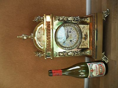 Antique French 8day Strike Mantle Clock