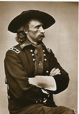 modern Postcard LIEUTENANT COLONEL GEORGE ARMSTRONG CUSTER 1865