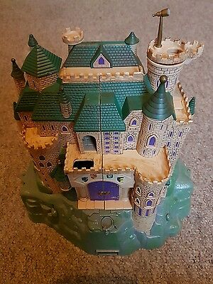 HARRY POTTER HOGWARTS DELUXE ELECTRONIC POLLY POCKET CASTLE incomplete