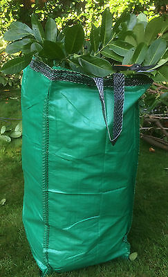 2 x EXTRA LARGE GARDEN BAGS, Sacks, 220 Litre, Waste, Logs Rubbish, HEAVY DUTY